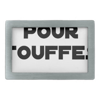 MARRIAGE FOR TUFTS - Word games Rectangular Belt Buckles