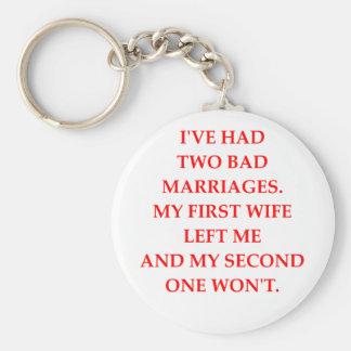 MARRIAGE KEY RING