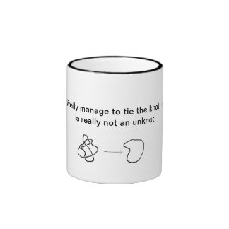 Marriage Knot Ringer Coffee Mug