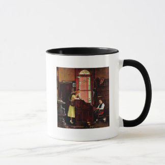 Marriage License by Norman Rockwell Mug