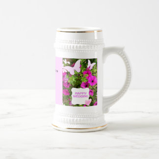 Marriage memories; Customize name and date Mugs