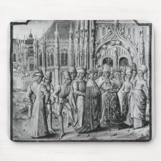 Marriage of Charles VI  King of France Mouse Pad
