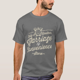 Marriage of Convenience / Shut up and Listen shirt