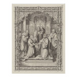 Marriage of Martin Luther and Catherine von Bora Poster