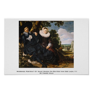 Marriage Portrait Of Isaac Massa Poster