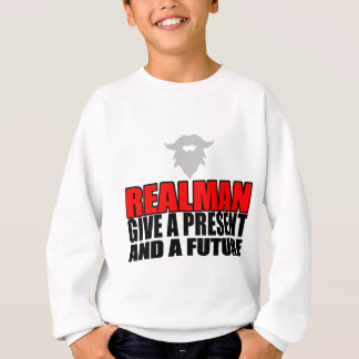 marriage realman future groom bride christmas part sweatshirt