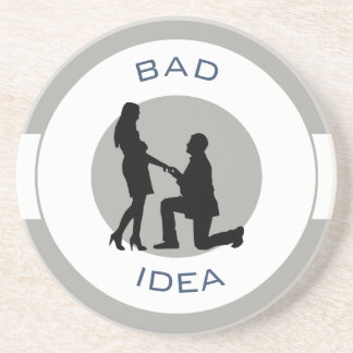 Marriage, run away from this! coaster