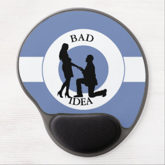 Marriage,run away from this gel mouse pad