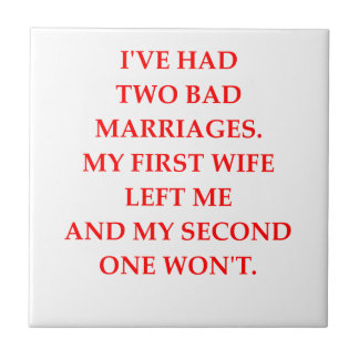 MARRIAGE SMALL SQUARE TILE