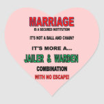 MARRIAGE STICKERS