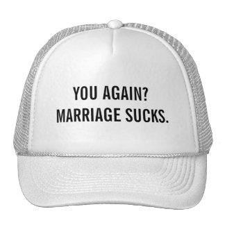 Marriage Sucks Cap