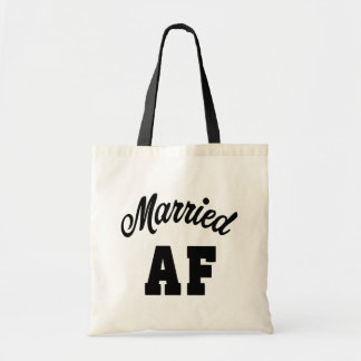 Married AF tote bag