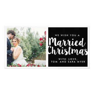 MARRIED CHRISTMAS | CHRISTMAS PICTURE CARD