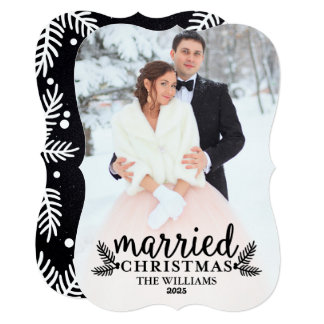 Married Christmas | Holiday Photo Card