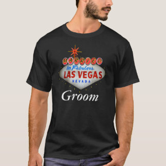 Married in Fabulous Las Vegas Groom Shirt