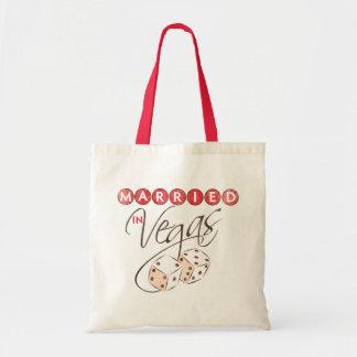 Married in Vegas Tote Bag