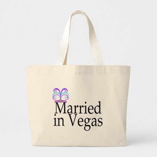 Married In Vegas Bags