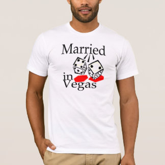 Married In Vegas (Dice) T-Shirt
