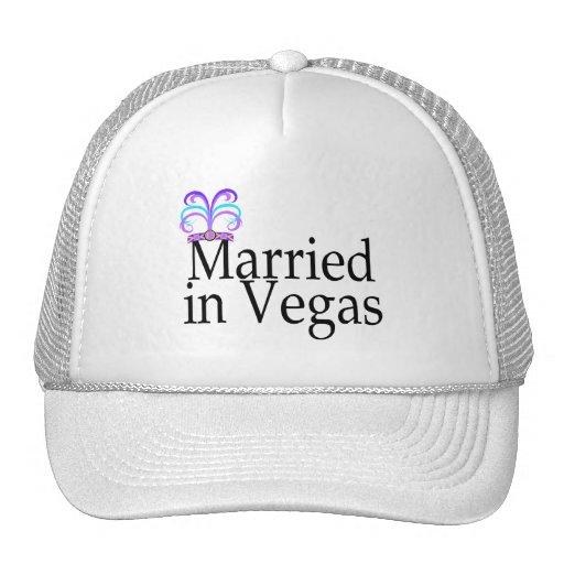 Married In Vegas Mesh Hat