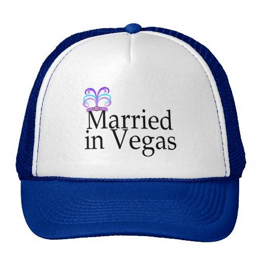 Married In Vegas Hats