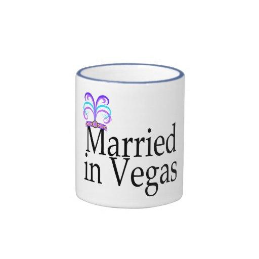 Married In Vegas Coffee Mug