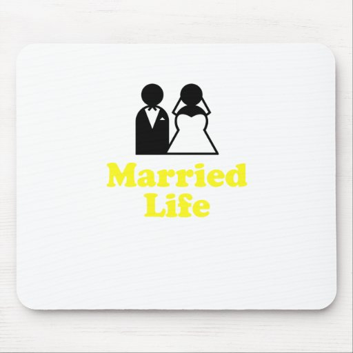 Married Life Mousepads