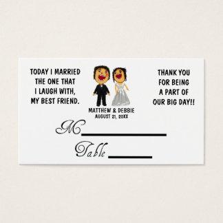 Married My Best Friend Wedding Placecards