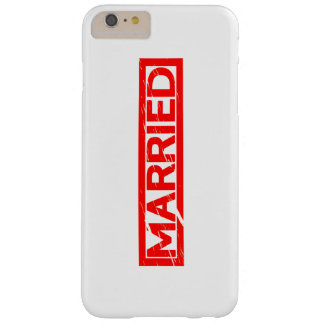 Married Stamp Barely There iPhone 6 Plus Case