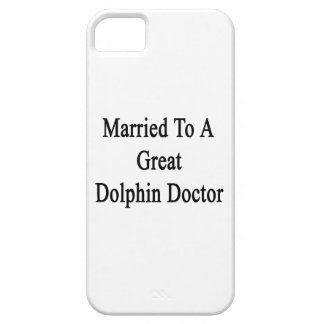 Married To A Great Dolphin Doctor iPhone 5 Cover