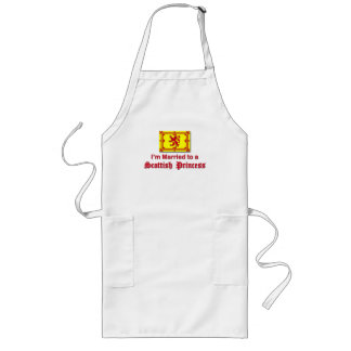 Married to a Scottish Princess Long Apron