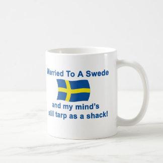 Married To A Swede Coffee Mug