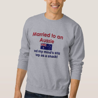 Married to an Aussie Sweatshirt