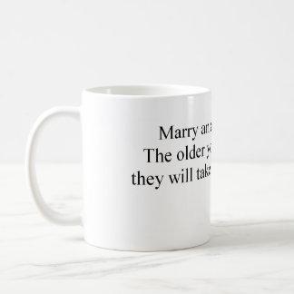 Marry an Archaeologist Coffee Mug