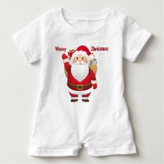 Marry Christmas Baby Romper Baby Bodysuit