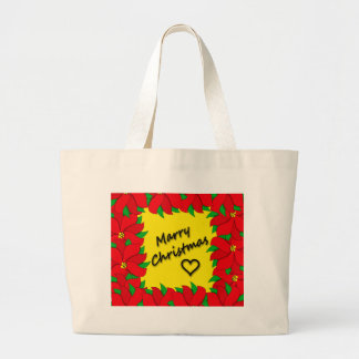 Marry Christmas Large Tote Bag