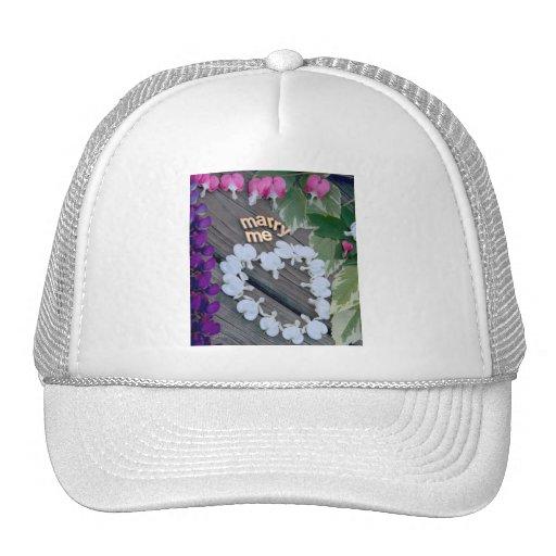 MARRY ME - Custom Photo Trucker Hat