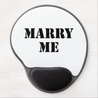 Marry Me Gel Mouse Pad