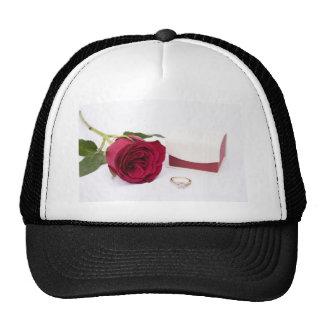 Marry Me Mesh Hats