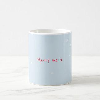 Marry Me Hearts Magic Mug