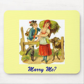 Marry Me? Mouse Pad