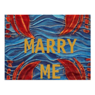 MARRY ME POSTCARD