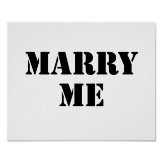 Marry Me Posters