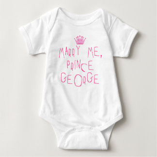 Marry Me Prince George Baby Bodysuit