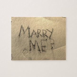 Marry Me Sand Marriage Proposal Puzzle