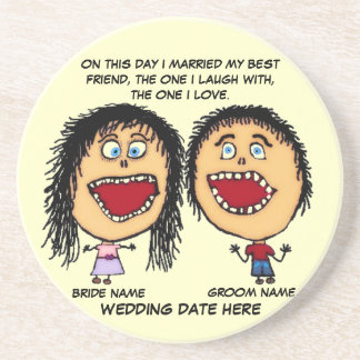 Marry My Best Friend Coaster