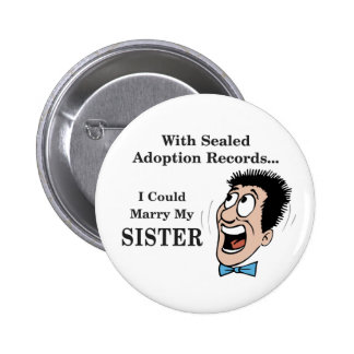 Marry Sister 6 Cm Round Badge