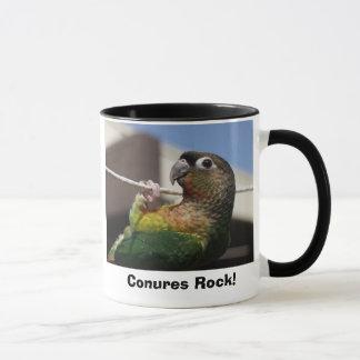 mars1, Conures Rock! Mug