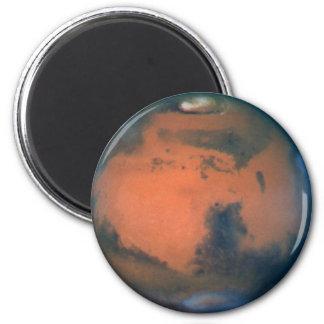 Mars 6 Cm Round Magnet