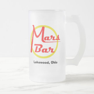 Mars Bar Glass Mug