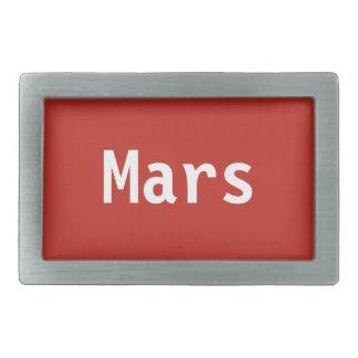 Mars Belt Buckle